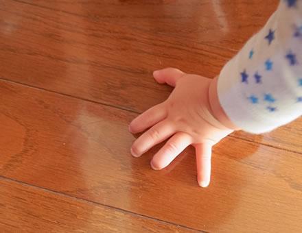 子供たちの未来のための無垢材